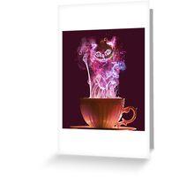 Cheshire Cat Fog Greeting Card