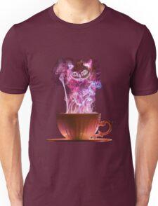 Cheshire Cat Fog Unisex T-Shirt