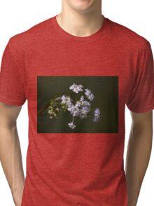 White spring blossom. Tri-blend T-Shirt
