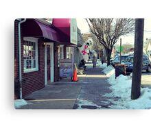 Downtown Manasquan New Jersey Canvas Print