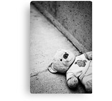 Lost Bear Canvas Print