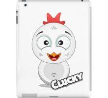Farm Animal Fun Games - Clucky - White iPad Case/Skin