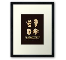 True Detective - Season 2 - Farrell, Vaughn, McAdams, Kitch Framed Print