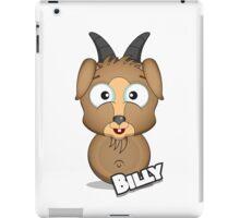 Farm Animal Fun Games - Billy - White iPad Case/Skin