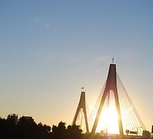 anzac bridge by TaylorV