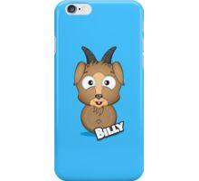 Farm Animal Fun Games - Billy - Blue iPhone Case/Skin