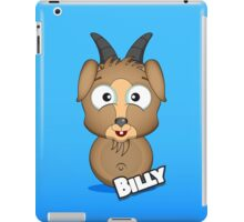 Farm Animal Fun Games - Billy - Blue Gradient iPad Case/Skin