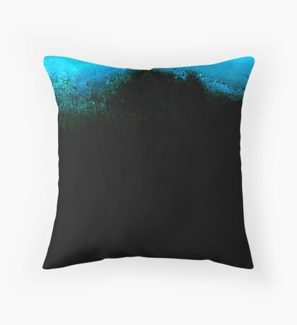 above, below and the mystery of in between Throw Pillow