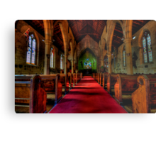Rock Of Ages - The Garrison Church c.1843, The Rocks Sydney- The HDR Experience Metal Print