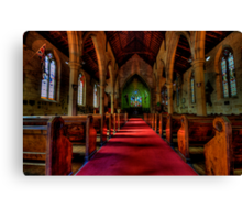 Rock Of Ages - The Garrison Church c.1843, The Rocks Sydney- The HDR Experience Canvas Print