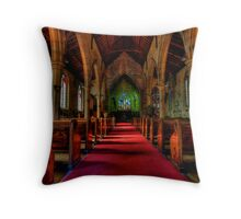 Rock Of Ages - The Garrison Church c.1843, The Rocks Sydney- The HDR Experience Throw Pillow