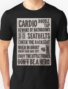 The Rules of Zombieland Unisex T-Shirt