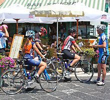 Amalfi Participants in the Giro de Italia by longaray2