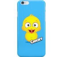 Farm Animal Fun Games - Chicky - Blue iPhone Case/Skin
