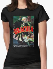 Dracula Vintage Womens Fitted T-Shirt