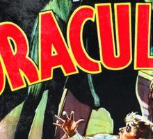 Dracula Vintage Sticker