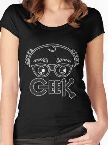 Geek 1.0 Women's Fitted Scoop T-Shirt