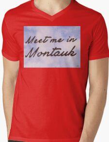 Meet Me in Montauk Mens V-Neck T-Shirt