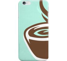 Coffee CSS Hex Word Print for cafe or home, Vector Illustration iPhone Case/Skin