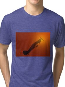 Evening flight Tri-blend T-Shirt