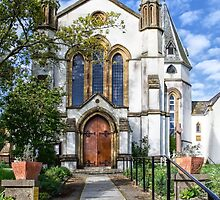 St Michael and St George Church - Lyme Regis by Susie Peek