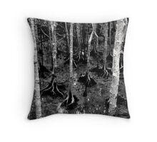 Mangrove trees Throw Pillow