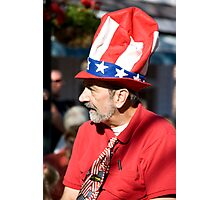 Uncle Sam's Cousin Photographic Print
