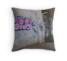 Raw Art Throw Pillow