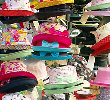 Hats with bows by Michelle Fluri