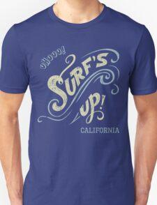 Surf's Up hand-lettering Unisex T-Shirt