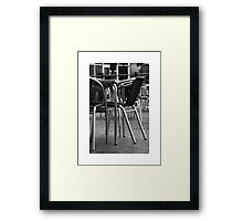 Rain Stopped Play Framed Print