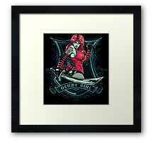 Derby Girl Framed Print