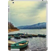 Boats on Esthwaite iPad Case/Skin