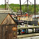 Harbor Loop Jumble ~ Gloucester, Massachusetts by artwhiz47
