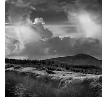 Scattering clouds - photograph Photographic Print