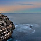 Rock Fishing by Den Williams
