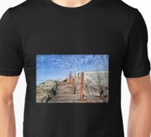 Steps Up From The Sea - Lyme Regis Unisex T-Shirt