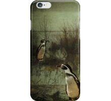 The Penguin Patch iPhone Case/Skin