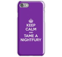 KEEP CALM and TAME A NIGHTFURY iPhone Case/Skin