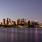 Sydney City - Twilight by Den Williams