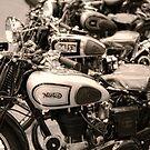 Vintage Motorcycles by Ari Salmela