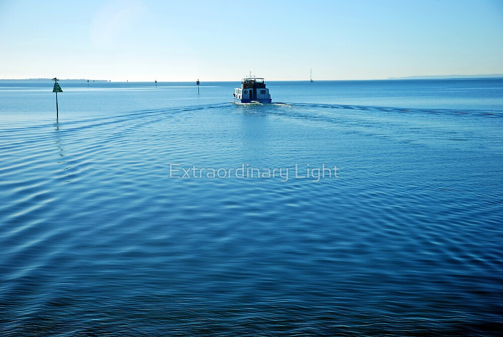 Departing Ferry by Renee Hubbard Fine Art Photography