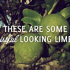 Wistful Looking Limes by ouinatalie