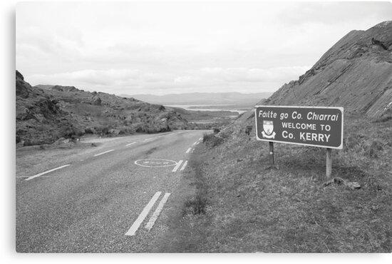 Cork/Kerry border by John Quinn