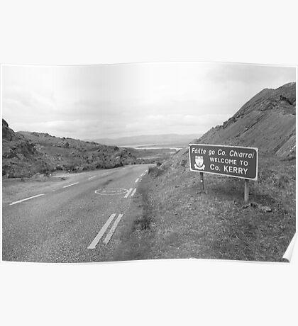 Cork/Kerry border Poster