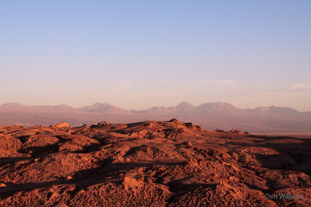 Mars by Den Williams