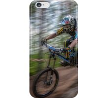 Downhill Race iPhone Case/Skin