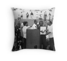 30th Anniversary of the March on Washington D.C. Throw Pillow