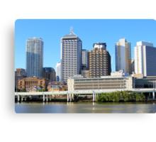 Brisbane Riverside Canvas Print