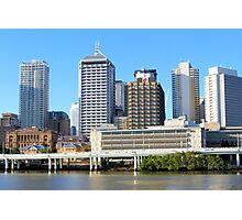 Brisbane Riverside Photographic Print